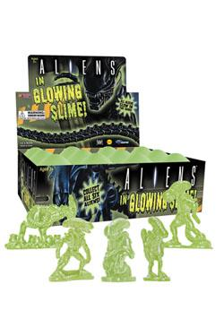 Aliens in Glowing Slime Sammelfiguren 5 cm Display (12)
