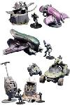 Halo Micro Ops Small Carded Mini-Figuren Sets Umkarton (12)