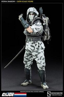 G.I. Joe Actionfigur 1/6 Storm Shadow Assassin 30 cm