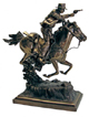 Indiana Jones Statue Indy on Horse Exclusive (Bronze) 28 cm