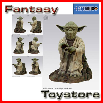 Star Wars Yoda using the Force