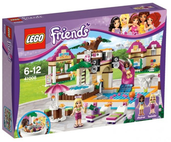 LEGO� Friends 41008 Großes Schwimmbad