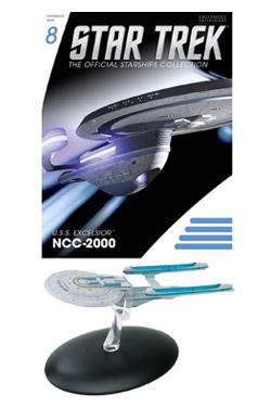 Star Trek Official Starships Collection Magazin mit Modell 08 USS Excelsior NCC-2000