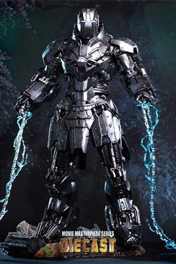 Iron Man 2 MMS Diecast Actionfigur 1/6 Whiplash Mark II 33 cm