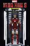 Iron Man 3 Plastic Model Kit 1/9 Hall of Armor Mark VII 20 cm