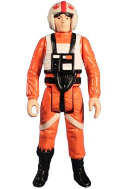 Star Wars Jumbo Vintage Kenner Actionfigur Luke Skywalker X-Wing Pilot 30 cm