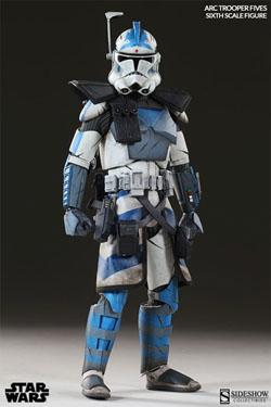 Star Wars The Clone Wars Arc Clone Trooper Fives Phase II Armor 30 cm
