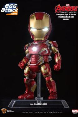 Avengers Age of Ultron Egg Attack Actionfigur Iron Man Mark XLIII 16 cm