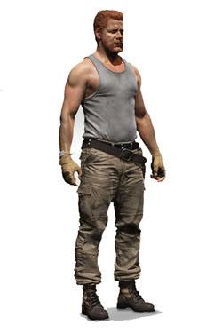 The Walking Dead TV Version Actionfigur Serie 9 Abraham Ford 15 cm